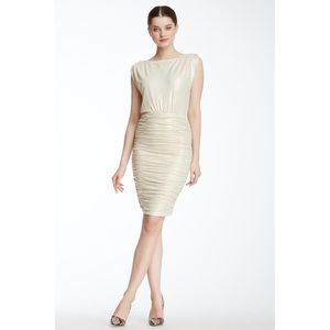Alice And Olivia by Stacy Bendet Ruched  Dress
